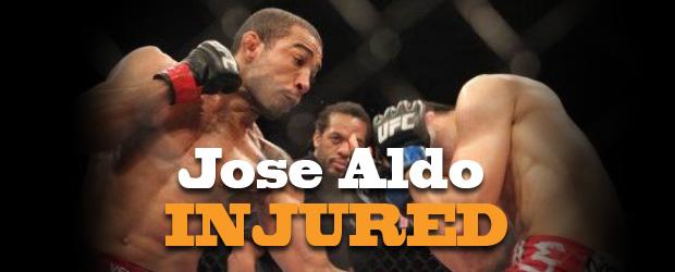 Jose Aldo Injured