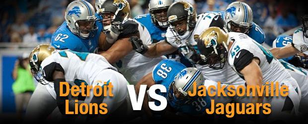Detroit Lions at Jacksonville Jaguars