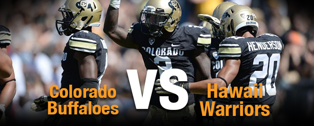 Colorado Buffaloes at Hawaii Warriors