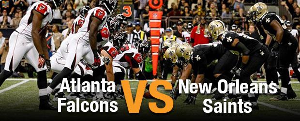 Atlanta Falcons at New Orleans Saints