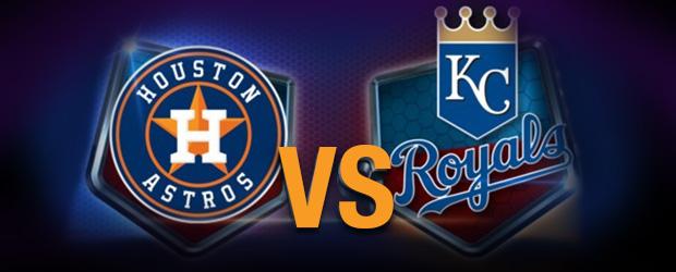 Houston Astros at Kansas City Royals