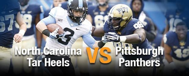 North Carolina Tar Heels at Pittsburgh Panthers
