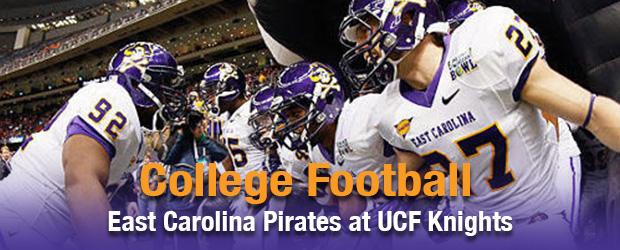 East Carolina Pirates at UCF Knights