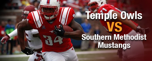Temple Owls at Southern Methodist Mustangs