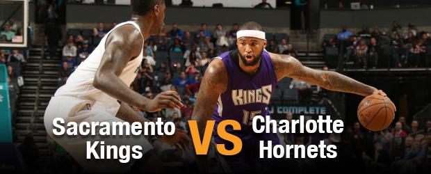 Sacramento Kings at Charlotte Hornets