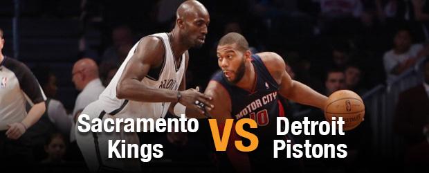 Sacramento Kings vs Detroit Pistons