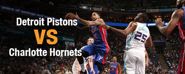 Detroit Pistons at Charlotte Hornets