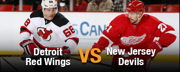 Detroit Red Wings at New Jersey Devils