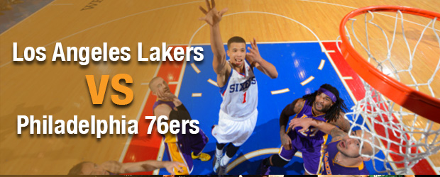 Los Angeles Lakers at Philadelphia 76ers