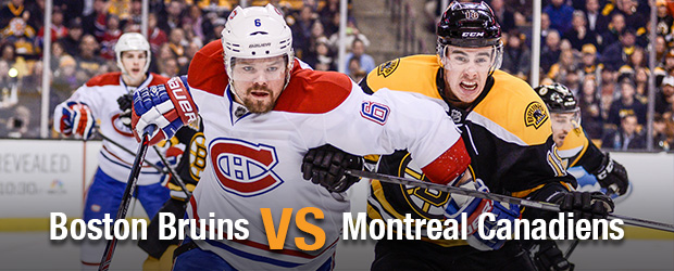 Boston Bruins at Montreal Canadiens