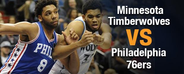 Minnesota Timberwolves at Philadelphia 76ers
