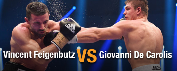 Vincent Feigenbutz vs Giovanni De Carolis