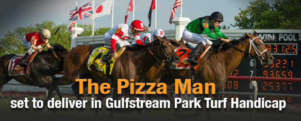 the pizza man horse