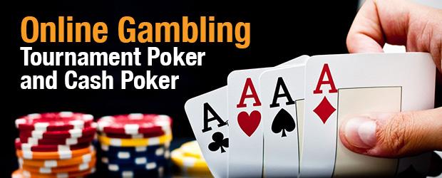 Online Gambling - Tournament Poker And Cash Poker