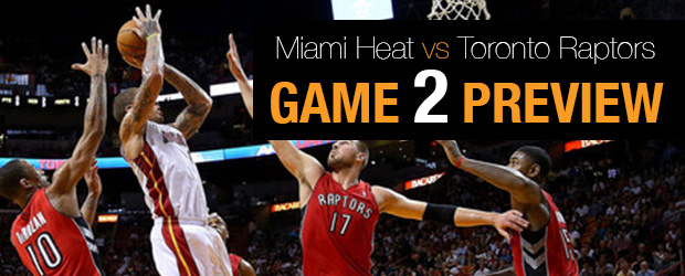 Miami Heat vs Toronto Raptors Game 2
