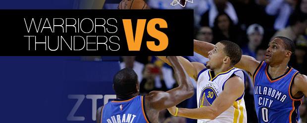 Warriors vs Thunders