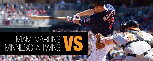 Miami Marlins vs Minnesota Twins
