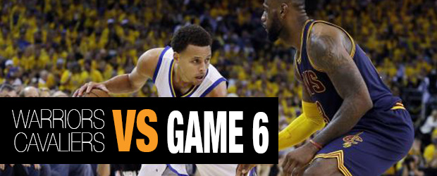 Warriors vs Cavaliers Game 6