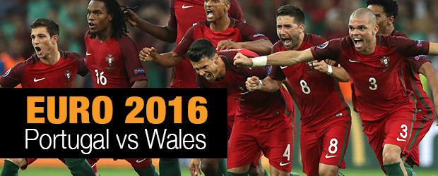Euro 2016 Portugal vs Wales