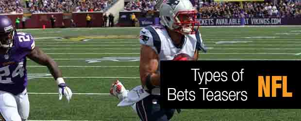 NFL Types of Bets - Teasers