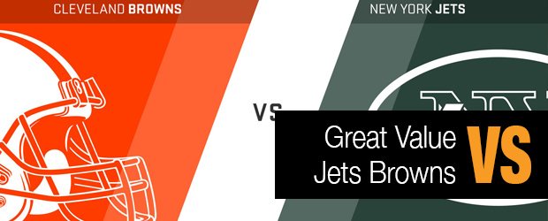 Great Value – Browns vs. Jets