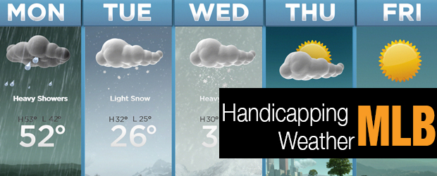 MLB - Handicapping Weather