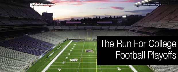 The Run For College Football Playoffs