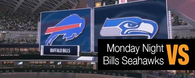 Monday Night Football Bills vs. Seahawks