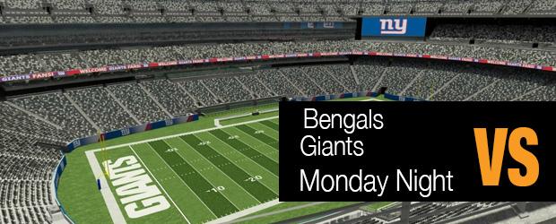 Bengals Vs. Giants Monday Night