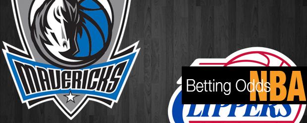 Clippers Vs. Mavericks Betting Odds