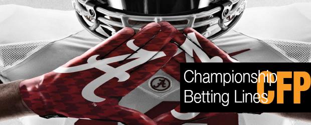 CFP Championship – Betting Lines
