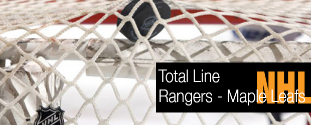 NHL Total Line – Rangers vs. Mapleleafs