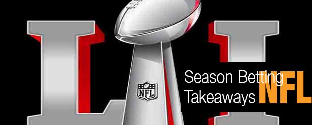 NFL Season Betting Takeaways