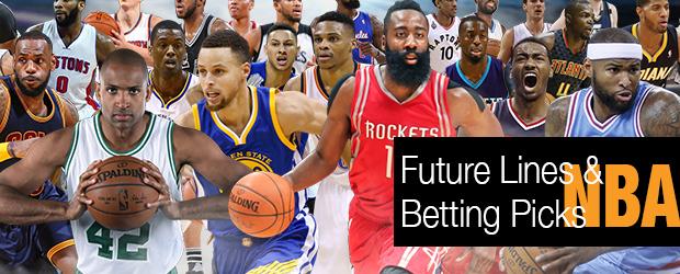 NBA 2017 Future Lines and Picks