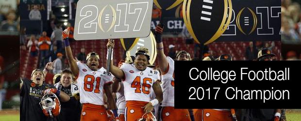 College Football – 2017 Champion