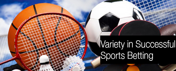 Variety in Successful Sports Betting