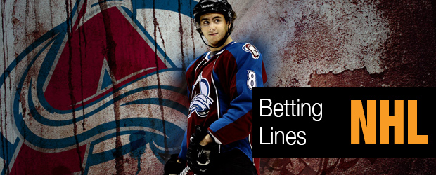 Hurricanes Avalanche – Betting Lines