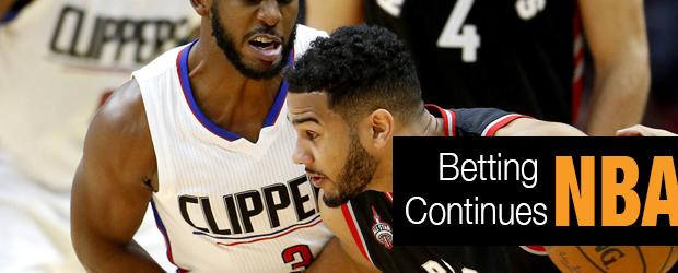 NBA Betting Continues