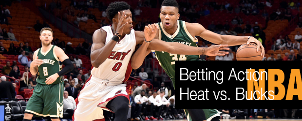 NBA Betting Action Heat vs Bucks