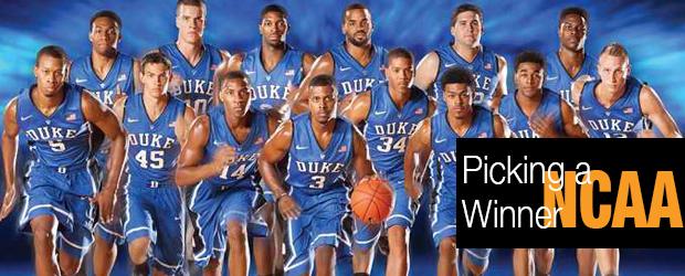 NCAA – Picking a Winner