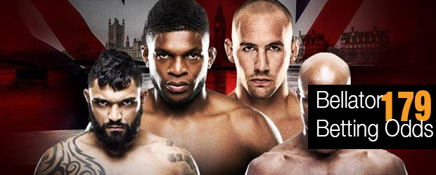 Bellator 179 Betting Odds