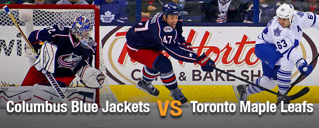 Columbus Blue Jackets at Toronto Maple Leafs